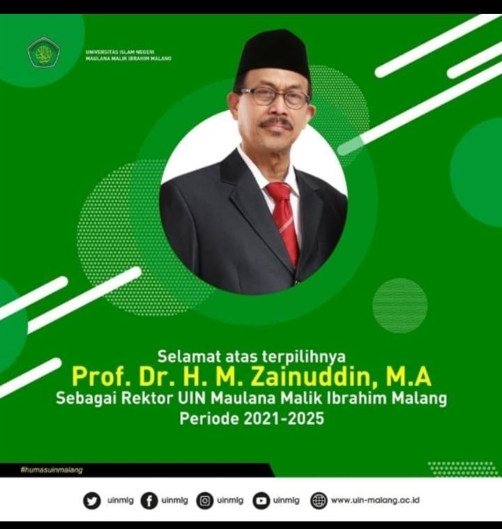 Pelantikan Rektor UIN Maulana Malik Ibrahim Malang